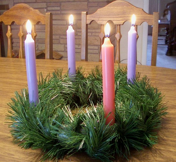 Make an Advent Wreath for Your Family
