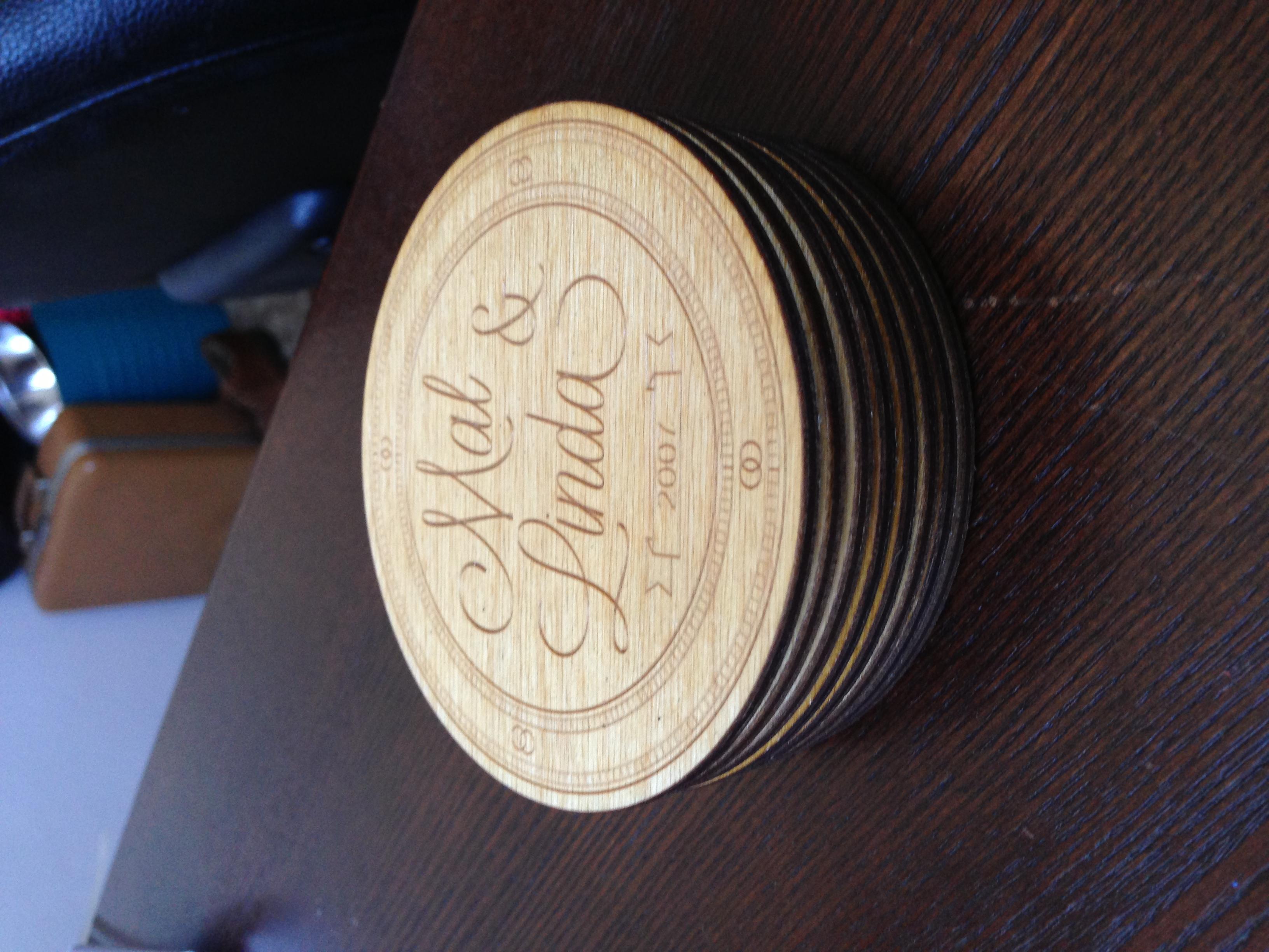 Al's Custom Wooden Coasters
