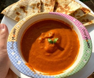 一锅番茄汤