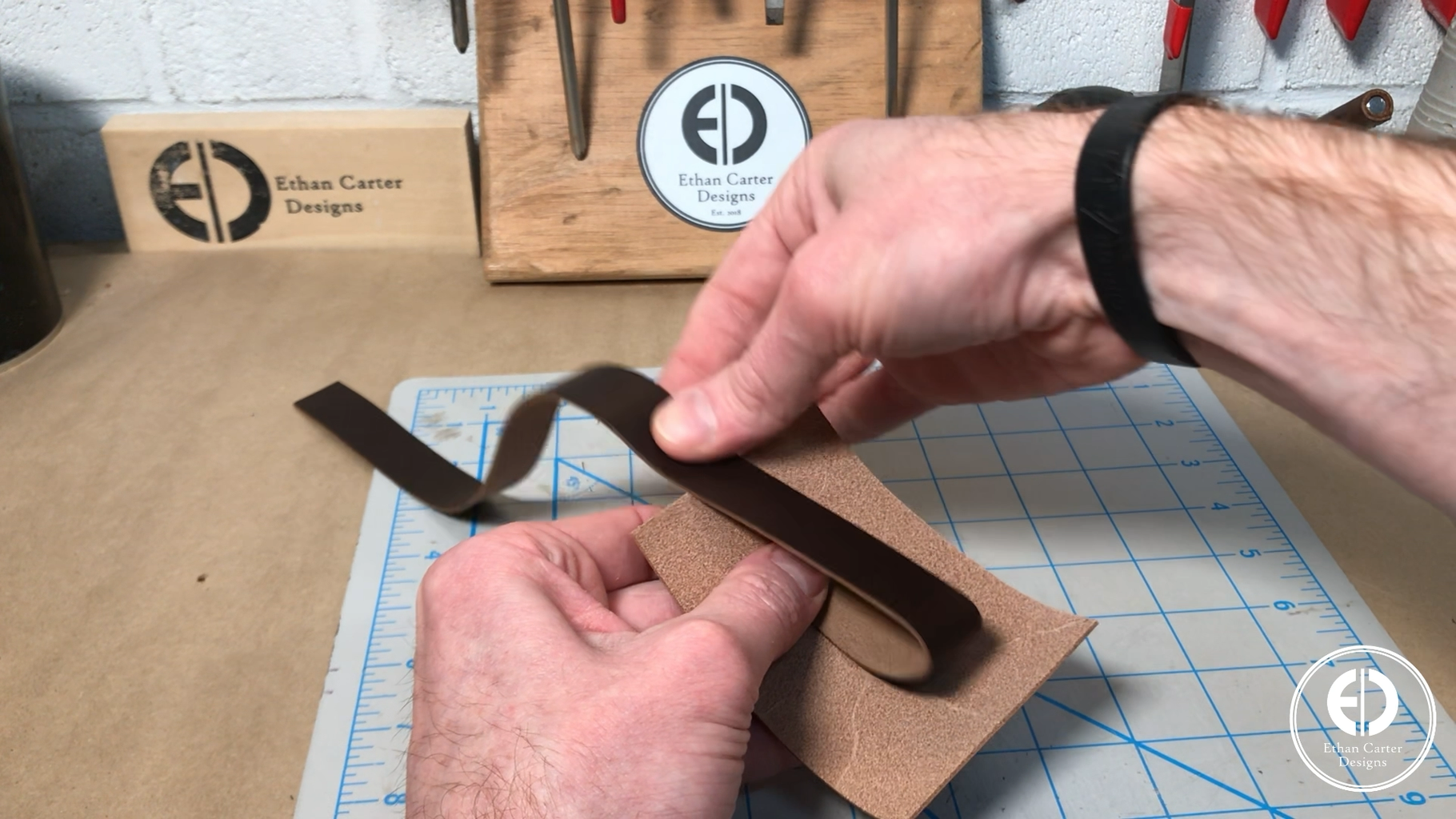 Cutting the Leather to Size
