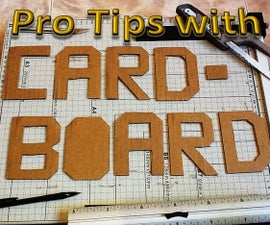 Pro Tips for Using Cardboard