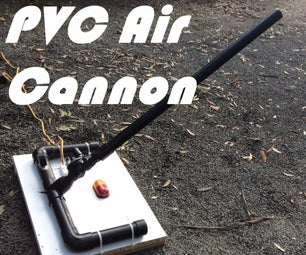 PVC Compressed Air Cannon
