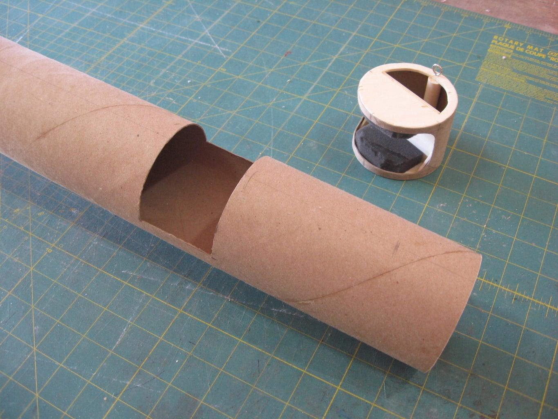 Add Camera Housing to Body Tube
