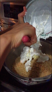 Mix in Melted Marshmallows and Butter