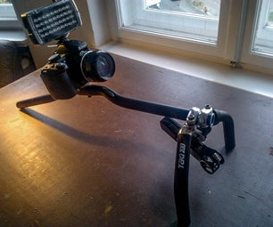 Camera Rig: a Simple Shoulder Rig Based on a Bicycle Handlebar