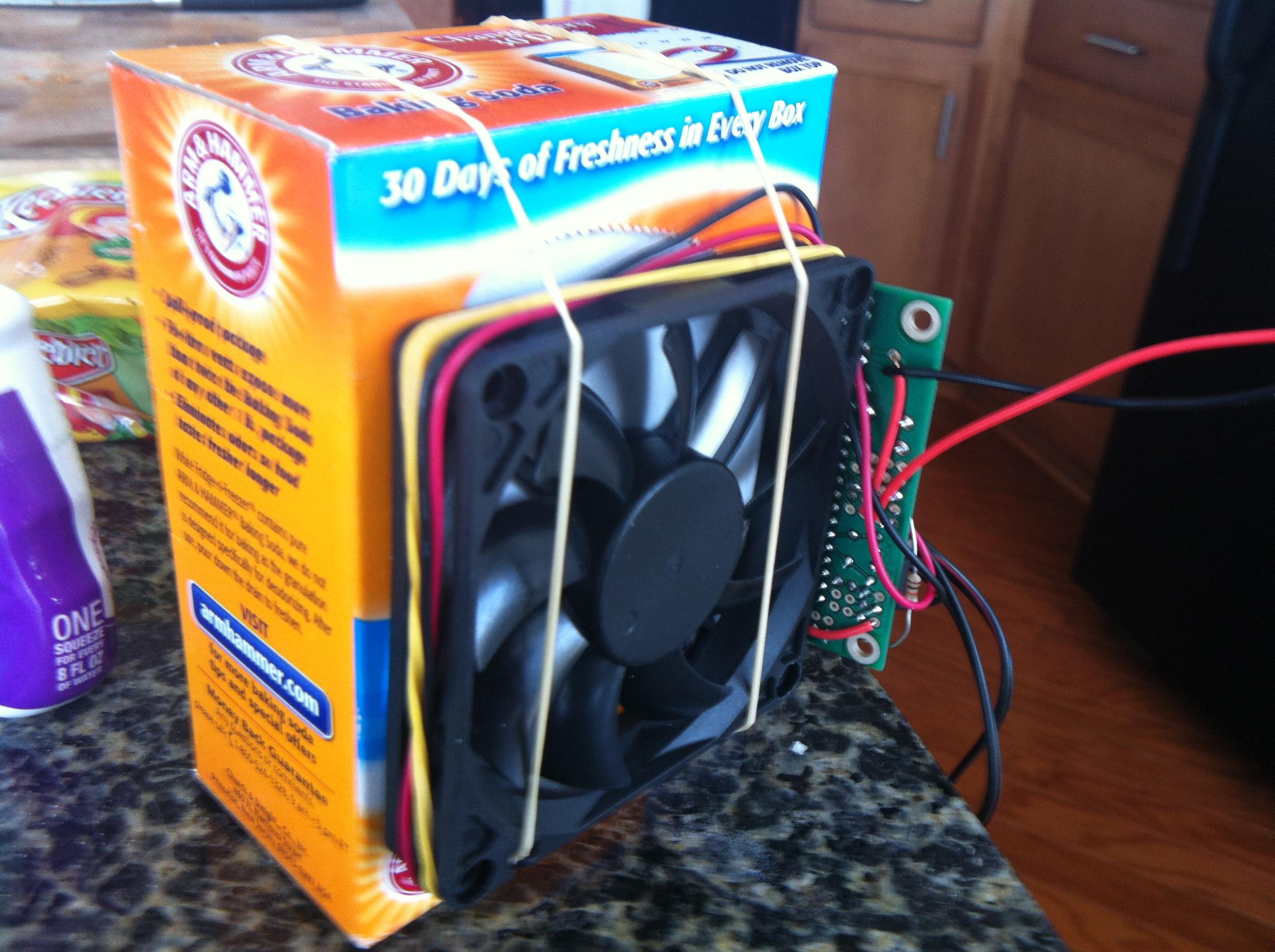 Build a cat litter box fan with Arduino