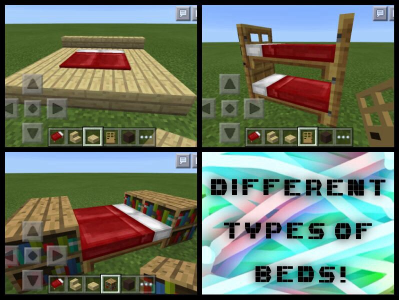Different Minecraft PE Beds