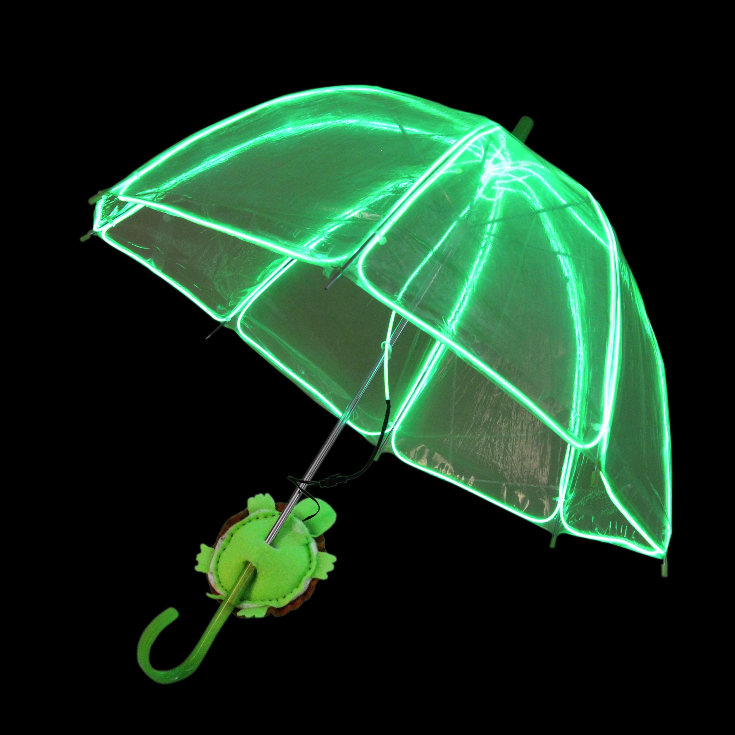 EZ-EL Wire Green Children's Light Up Green Umbrella Step-By-Step Tutorial