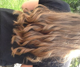 How To: Curl With a Flat Iron