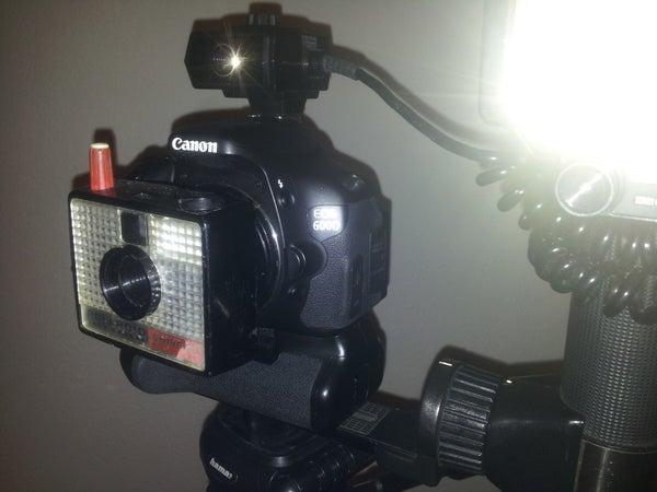 DIY Polaroid Swinger Model 20 to Canon EF DSLR Lens