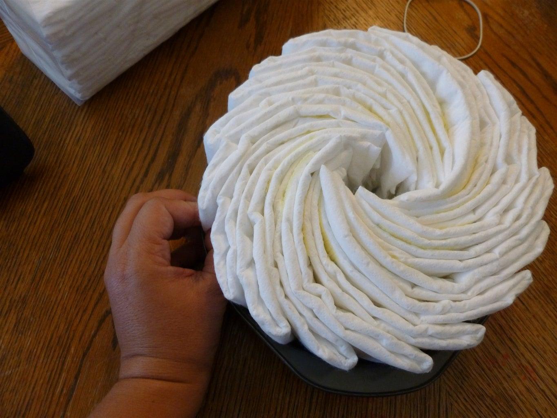 Create the Diaper Tires
