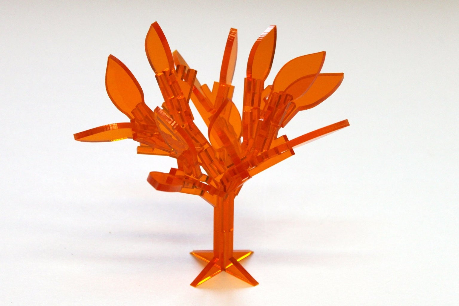 Simple Laser Cut Tree Building System.