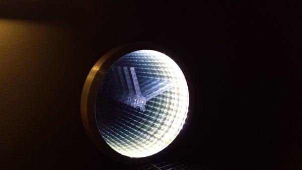 Infinity Mirror Clock Making