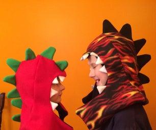 Fierce Fleece Dragon Hat(s)