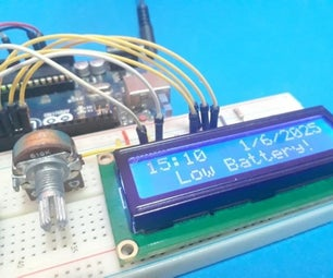 Real-Time Clock Battery Monitoring System