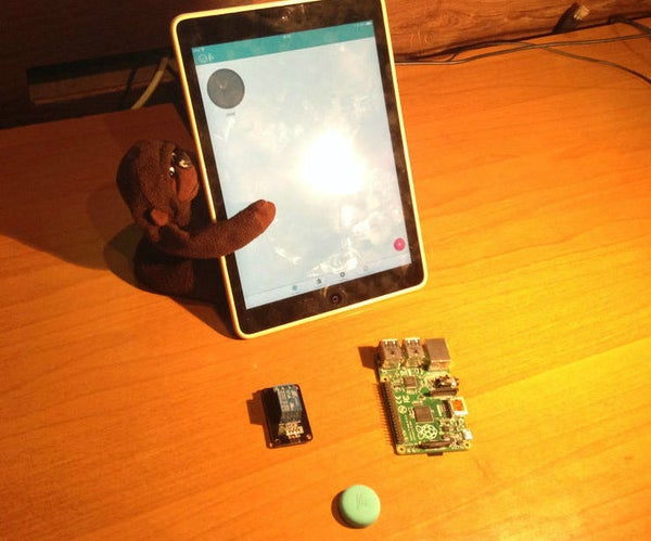 OSMC and TV Controlled by Flic Smart Button