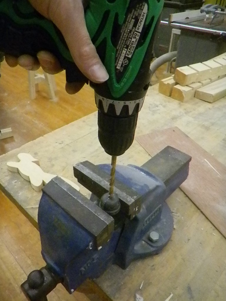 Drilling and Tapping the Top Cap