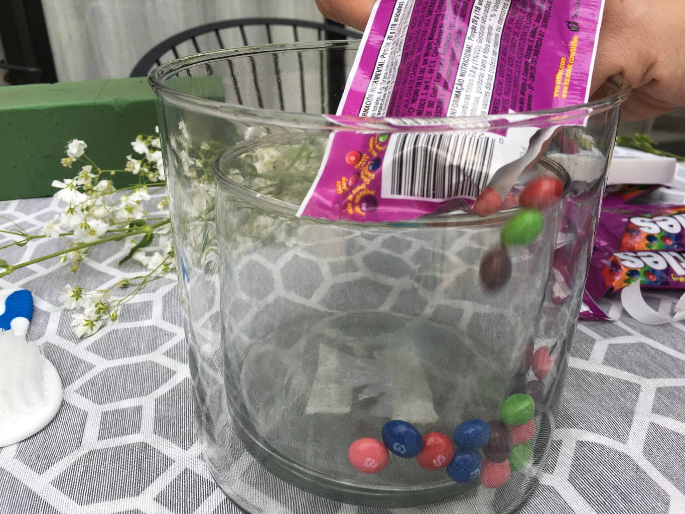 Fill the Blank Space With Candy