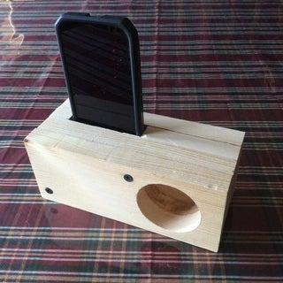 Android Passive Amplifier Speaker