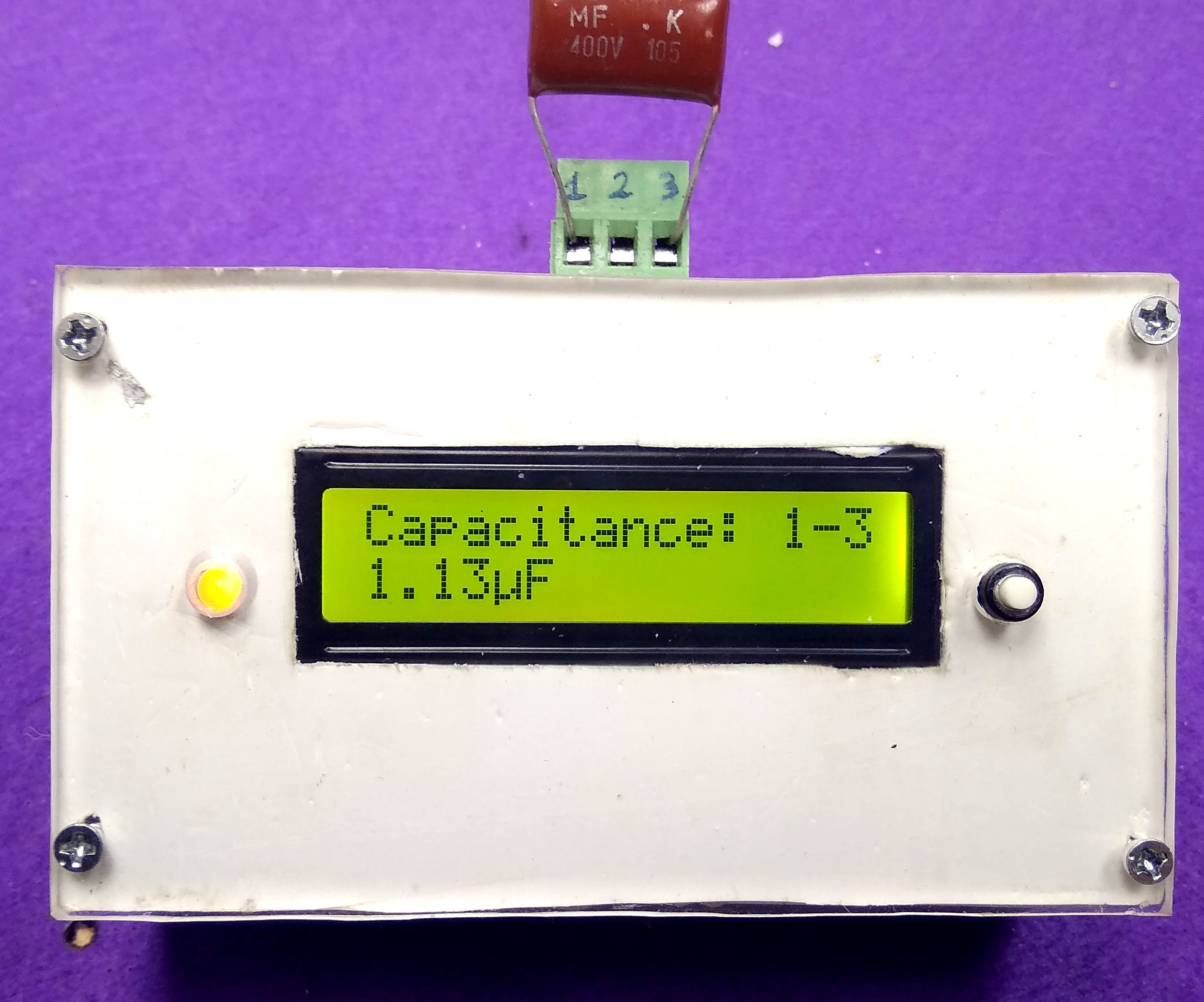 Home Make Transistor Diac Thyristor Capacitance MOS PNP NPN Tester