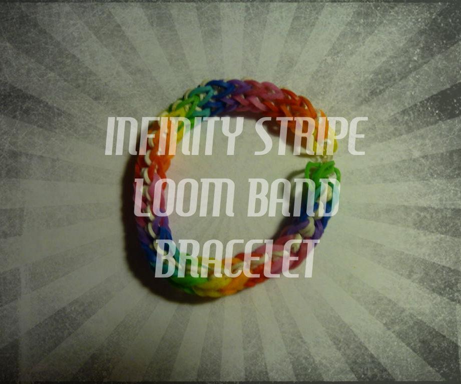 Infinity Stripe Bracelet