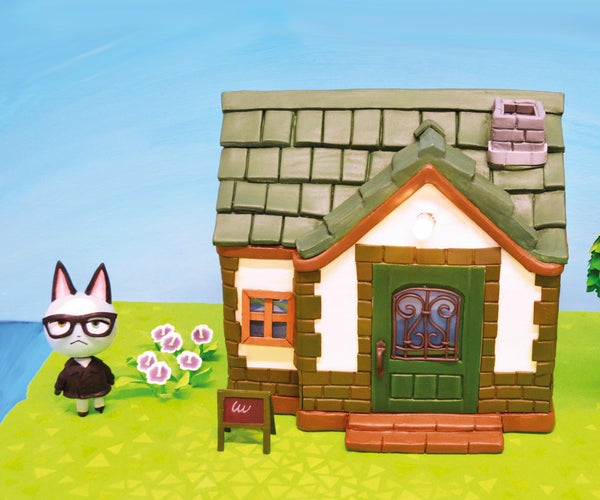 Sculpt an Animal Crossing House
