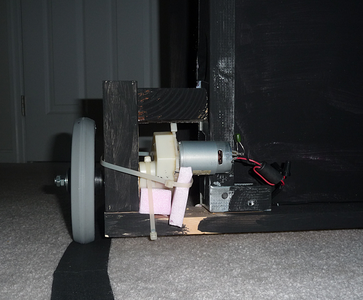 Adding the Wheel and Motor