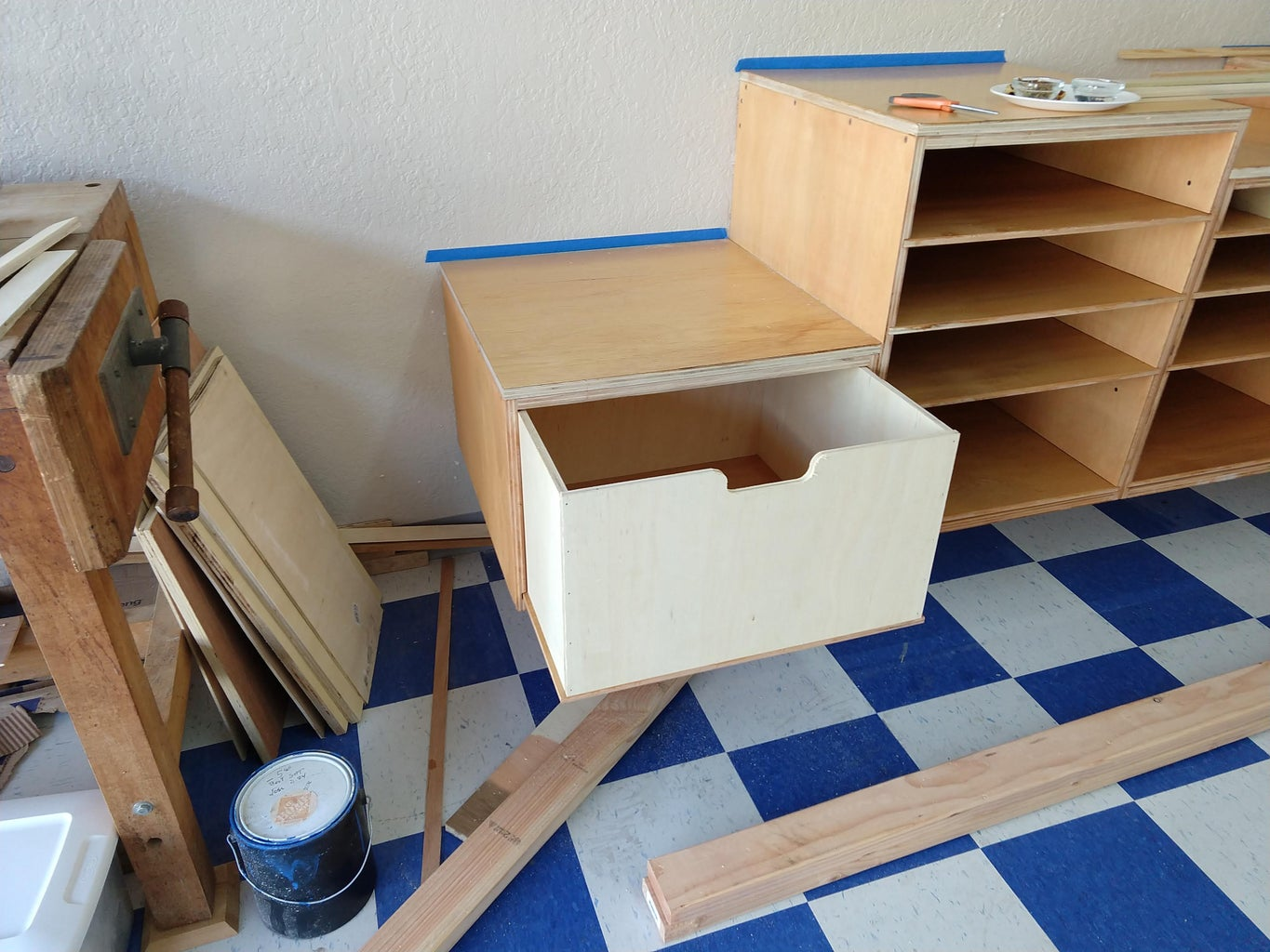 Build the Drawers.