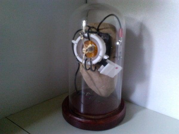 Portal 2 Clock on a Budget