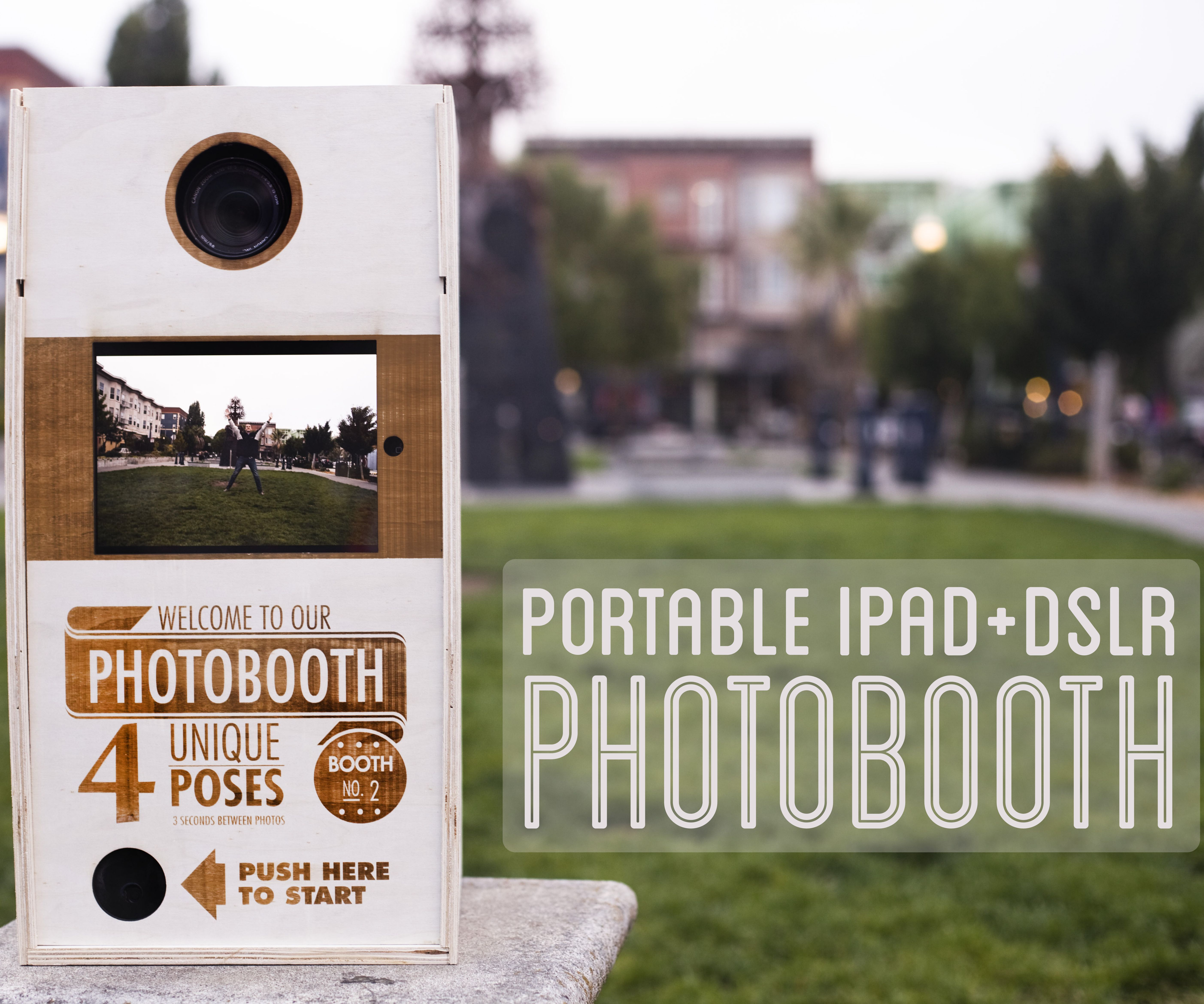 Portable Photobooth (iPad+DSLR)