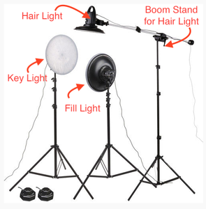 Lighting Your Talent - 3 Point of Lighting