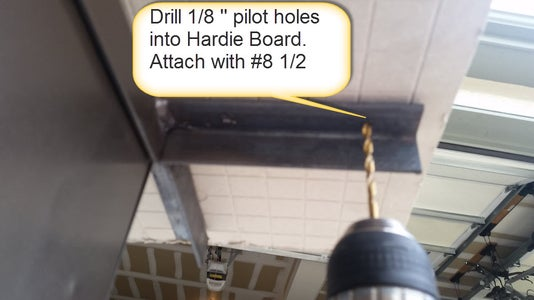 Drill Holes and Attach Top