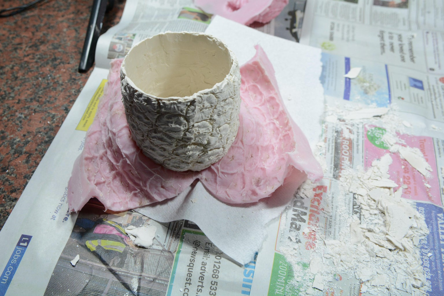 Pineapple- Cast Removal and Painting