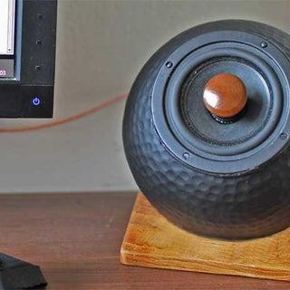 Retro Wireless Speakers From Ikea Salad Bowls