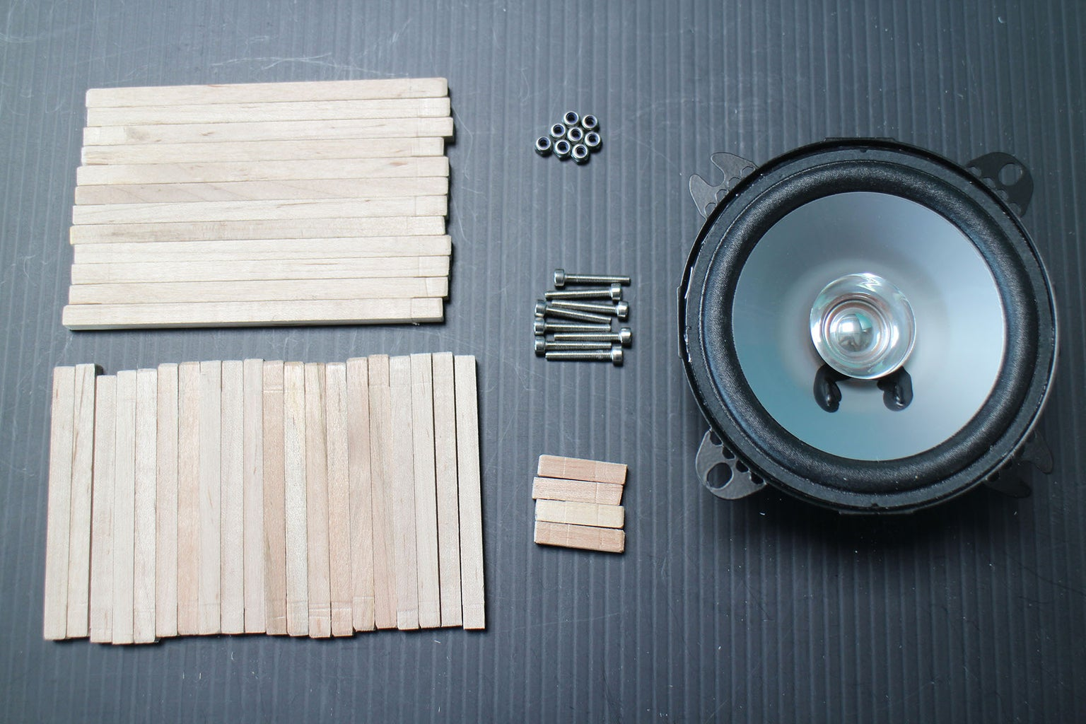 Assembly: Prepare Dowels