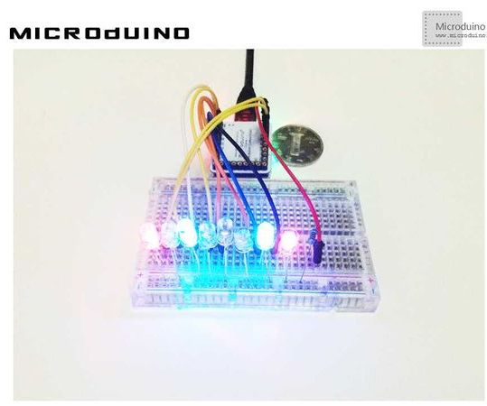 Various Display of Led Lights