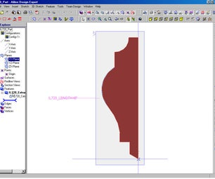 Making Profiles From CAD DWG/DXF Files