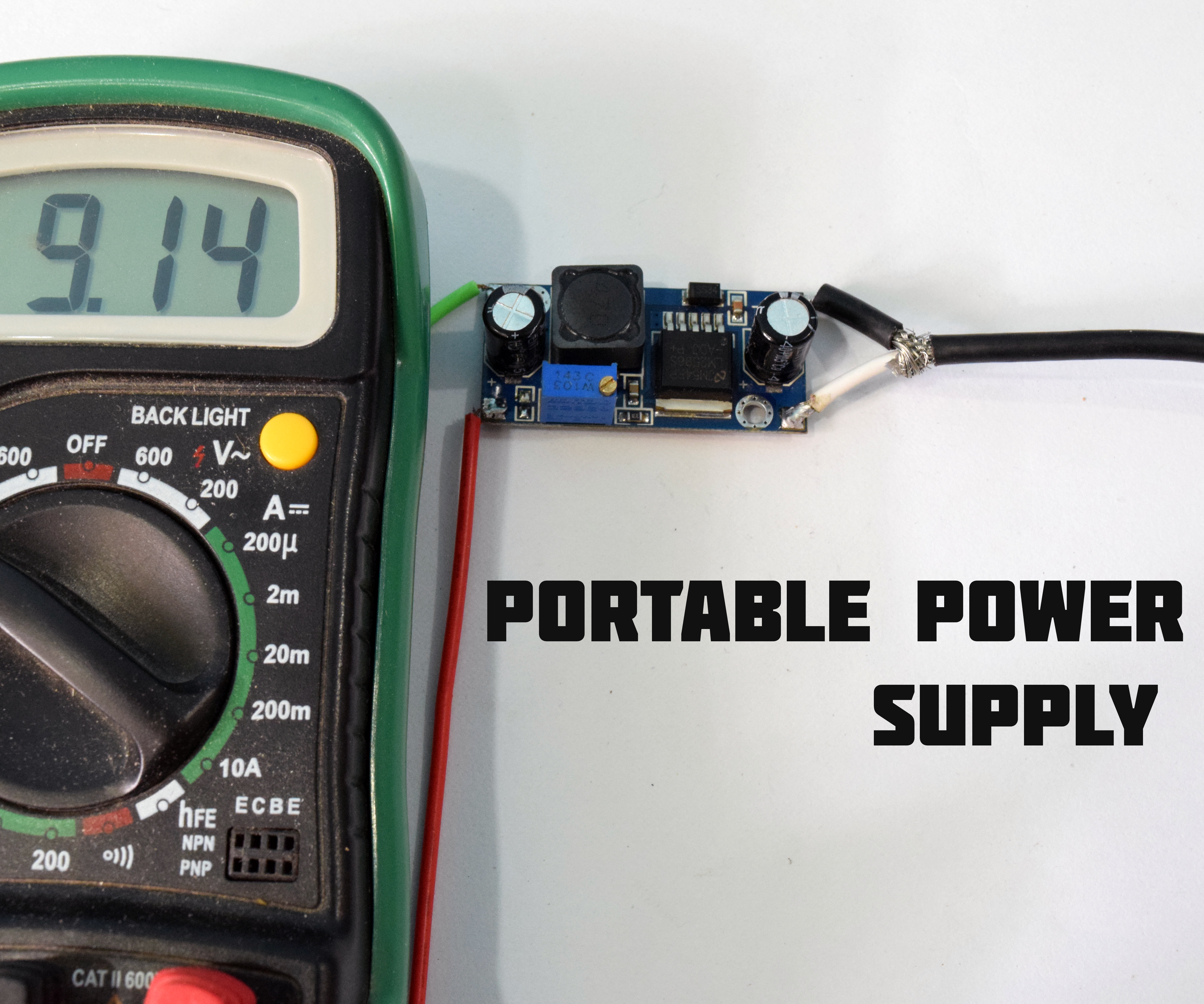 Build Your Own Regulated Power Supply