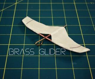 Steampunk Brass Glider