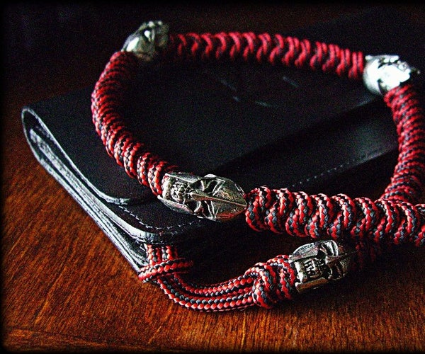 How to Tie a Two-strand Wall Knot Sinnet Paracord Lanyard