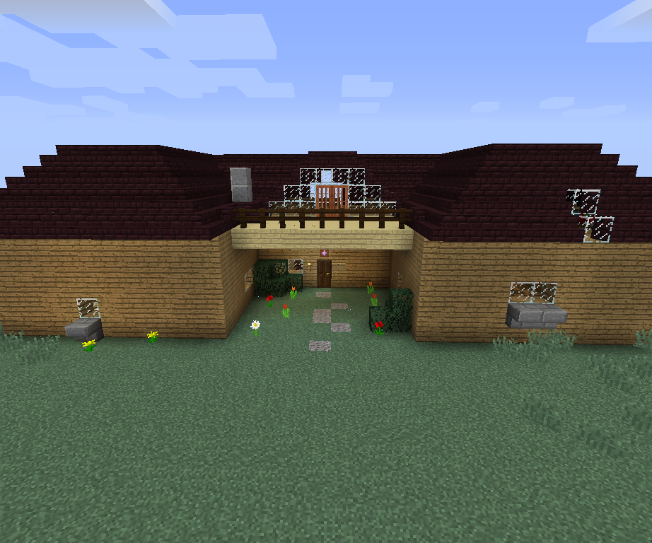 How To Make A Big Fancy House In Minecraft