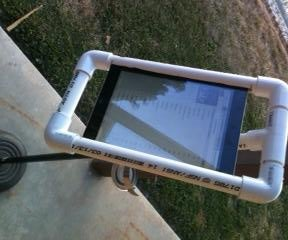 Ipad Holder for Microphone Stand From PVC
