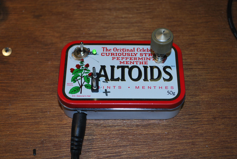 LM317 portable voltage regulator