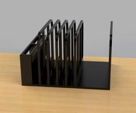 Slot Desktop Shelf