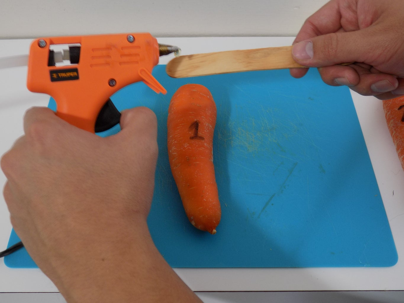 Step 3: Glue and Tight Them Together