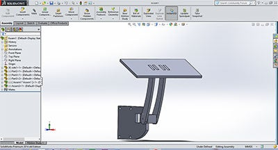 Cad Model of Prototype