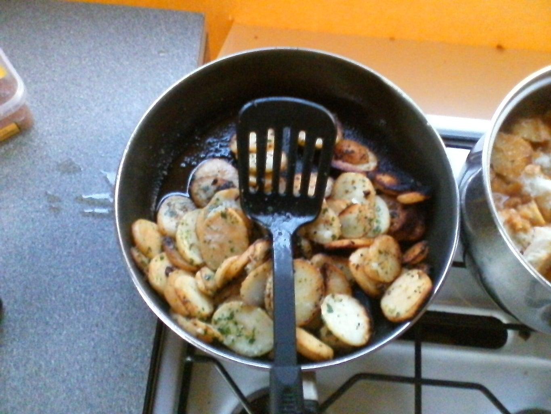 Sautee Potatoes . . .