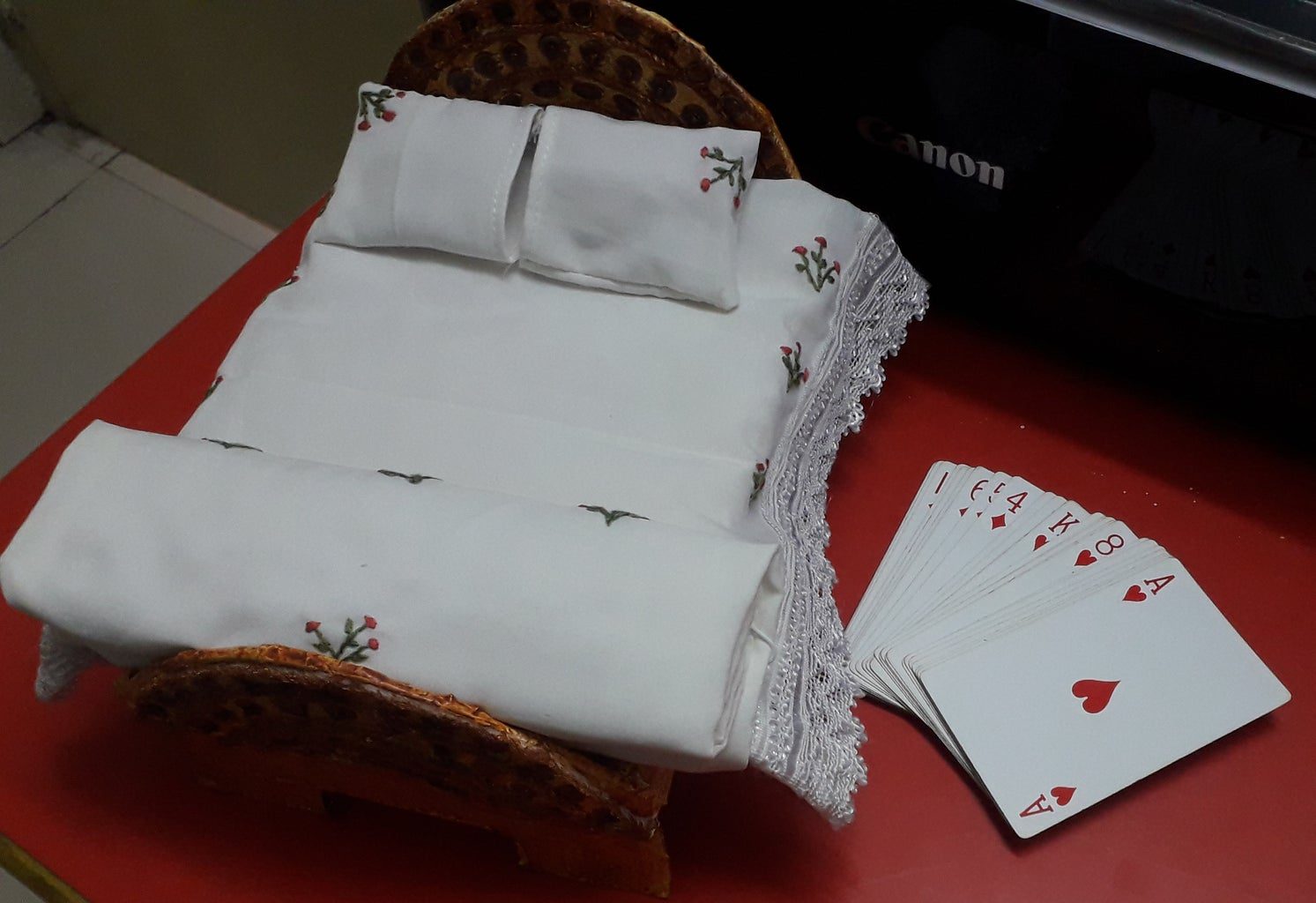 Indian Style Doll's  Bed