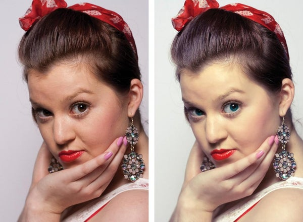 Airbrushing Models in Photoshop