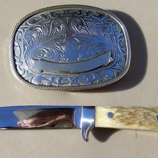 bone grip file blade knife & buckle 1.JPG